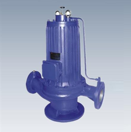 PBG系列管道屏蔽泵_屏蔽